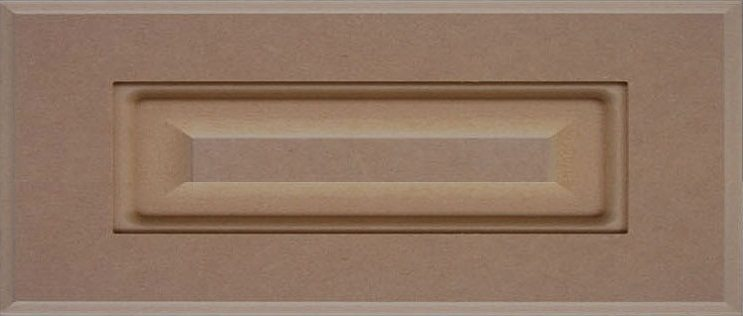 801 1 Piece Slab MDF Drawer Front Image
