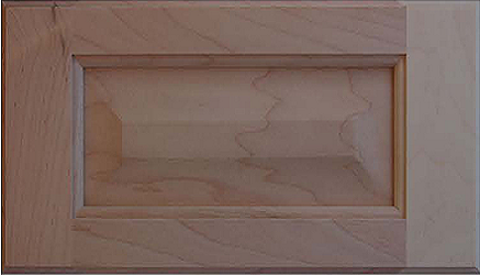 501DF Veneer Raised Panel Drawer Front (Standard) Image