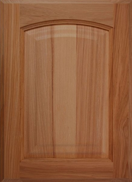 104 Crown Arched Solid Wood Raised Panel Door Image