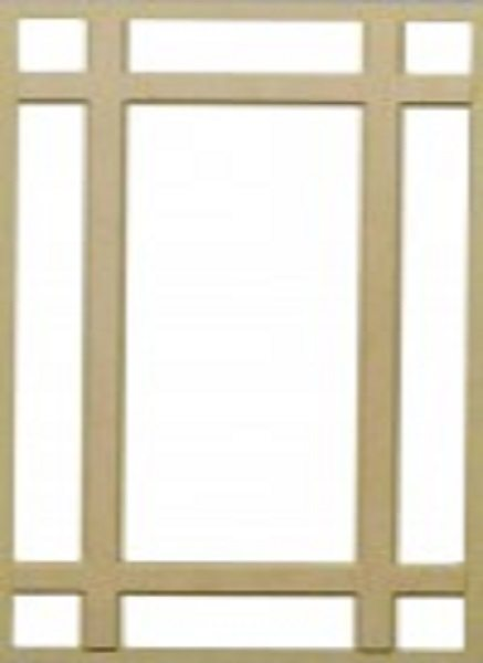 I9 Glass Door Mullion Insert Image