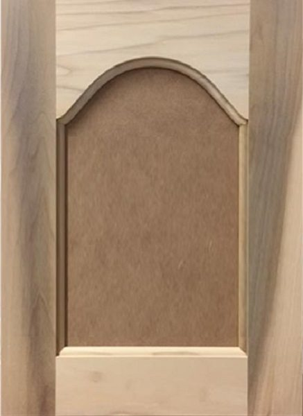 302 Cathedral Arched MDF Flat Panel Door Image