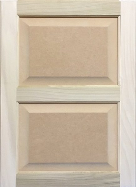 4011 Double MDF Raised Panel Door Image