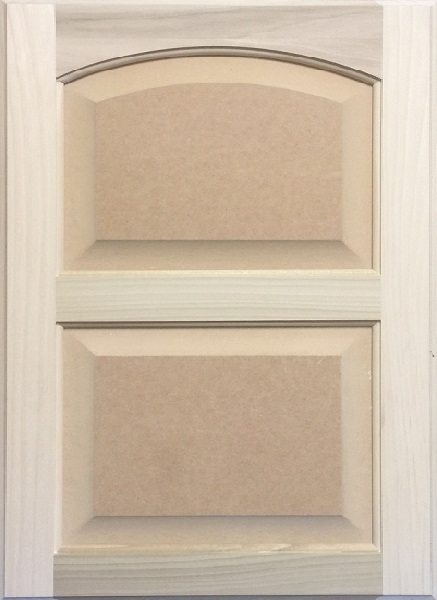 4044 Double Crown Arched MDF Raised Panel Door Image