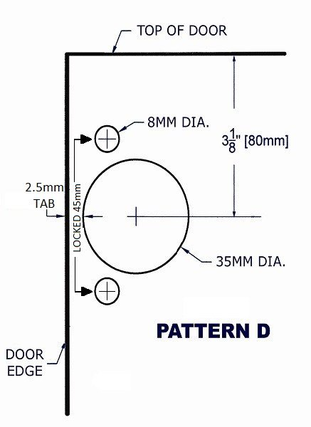 Drill Pattern D Image