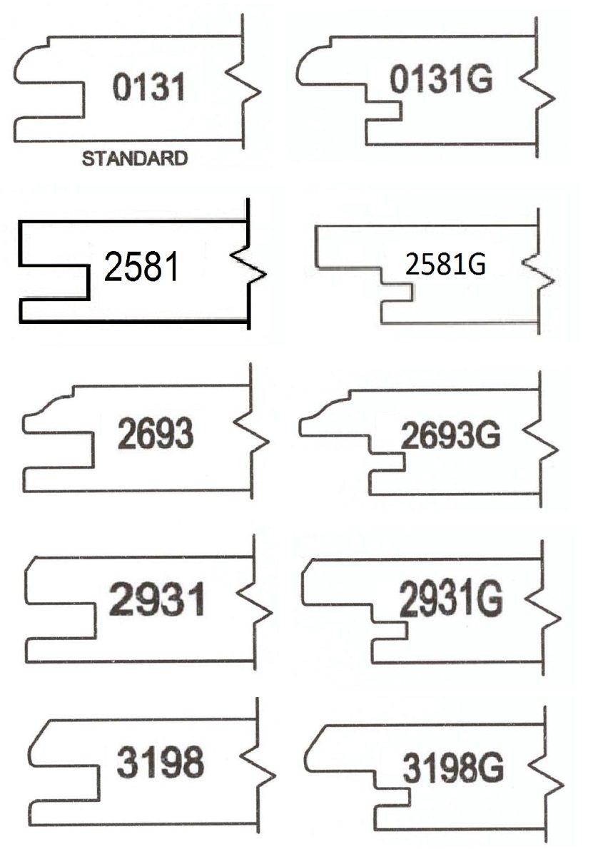 Cabinet Door Profiles Available From Arkansas Wood Doors