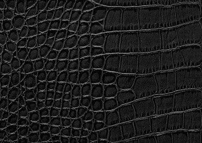 Dackor - Leather Black Alligator